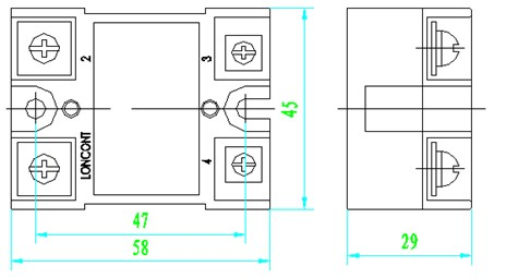 半波随机型固态继电器的应用电路图